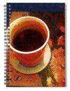Coffeetable Book Spiral Notebook