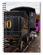 Cog Railway Spiral Notebook