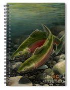 Coho Fishing Spiral Notebook