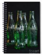 Coke Bottles From The 1950s Spiral Notebook