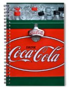 Coke Cooler Spiral Notebook