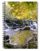 Coker Creek Falls Spiral Notebook