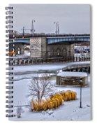 Col Patrick O' Rorke Memorial Bridge Spiral Notebook