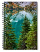 Colchuck Reflection Spiral Notebook