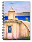 Cold Bay Chapel Spiral Notebook