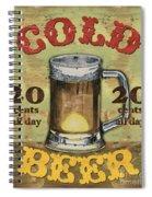 Cold Beer Spiral Notebook
