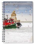 Cold Cleveland Spiral Notebook