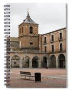 Cold Courtyard Avila Spiral Notebook