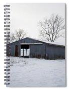 Cold Desolation Spiral Notebook