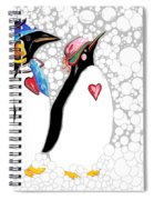 Cold Feet Warm Hearts Spiral Notebook