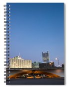 Cold Fire Spiral Notebook
