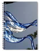 Cold Flame Spiral Notebook