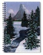 Cold Mountain Brook Spiral Notebook