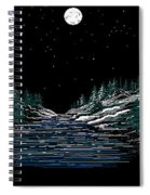 Cold Mountain Winter Spiral Notebook