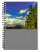 Cold Spring Day In Vermont Spiral Notebook