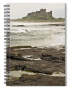 Cold Waves Of Northumberland Spiral Notebook