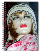 Cold Weather Cutie Spiral Notebook