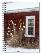 Cold Winter Day  Spiral Notebook
