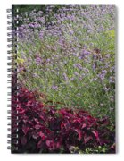 Coleus And Lavender Spiral Notebook