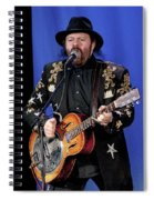 Colin Linden Of Blackie And The Rodeo Kings Spiral Notebook