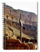 Colisseum Cross Spiral Notebook