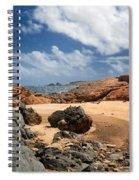 Collapsed Natural Bridge Aruba Spiral Notebook