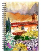 Colle D Val D Elsa In Italy 03 Spiral Notebook