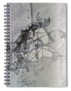 Collecting Thought 4 Spiral Notebook