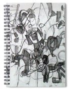 Collecting Thought 6 Spiral Notebook