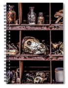 Collection At Techatticup Gold Mine-alt Process Spiral Notebook