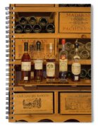 Collection Of Wines And Armagnac Spiral Notebook