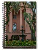College Courtyard Spiral Notebook