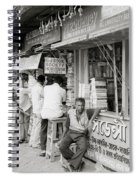 College Street Calcutta  Spiral Notebook
