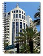 Collins Ave Spiral Notebook