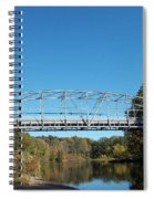 Collinsville Steel Bridge 1 Spiral Notebook