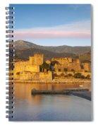 Collioure Dawn Spiral Notebook