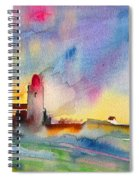 Collioure Impression 01 Spiral Notebook