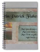 Colm Irish Name Plate Spiral Notebook