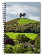 Colmers Hill At Symondsbury Spiral Notebook