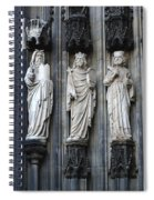 Cologne Cathedral Statuary Spiral Notebook