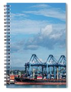 Colon Container Terminal, Panama Canal Spiral Notebook