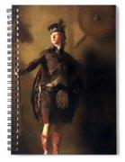 Colonel Macdonnel Of Glengarry Spiral Notebook