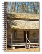 Colonial Cabin Spiral Notebook