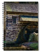 Colonial Grist Mill Spiral Notebook