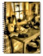 Colonial Kitchen Spiral Notebook