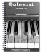 Colonial Piano Spiral Notebook