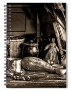 Colonial Table Set Spiral Notebook