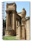 Colonnades Palaces Of Fine Arts Spiral Notebook