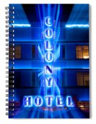 Colony Hotel 2 Spiral Notebook