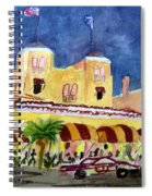 Colony Hotel In Delray Beach Spiral Notebook